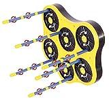 Abbacchiatore elettrico a batteria Ragnolive Light scuotitore scuotiolive asta 2,50 mt cavo 10,5 mt
