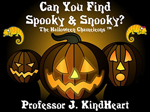 Can You Find Spooky & Snooky? - The Halloween Chameleons (TM) (English Edition)