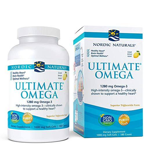Ultimate Omega Lemon 180 sgels