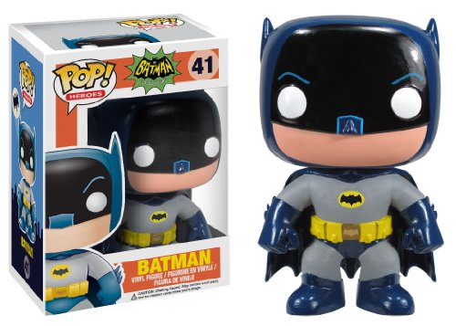 Preisvergleich Produktbild Batman 1966 TV-Serie POP! Heroes BATMAN 10cm Vinyl ´Deformed´ Figur