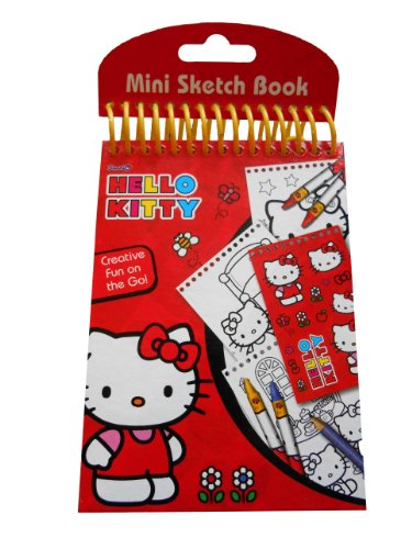Anker ANKHKMB - Hello Kitty Mini Sketch Book (Hello Kitty Travel Kit)