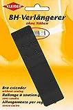 Kleiber - Estensore per reggiseno a gancio singolo 20 mm, nero