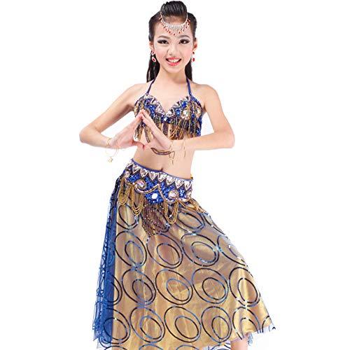 z Kostüme Neue Kinder Indianer Kostüme Kinder Indianer Tanz Kostüme - V Drills,Royalblue ()