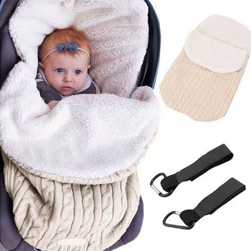 MiniGreen Baby Kleinkinder Unisex Neugeborene Gestrickte Kapuze