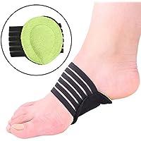 Romsion Unisex Fußgewölbestützung, weich, dünn, gepolstert, stoßfest, Knieschmerzen, lindert schmerzende Füße preisvergleich bei billige-tabletten.eu