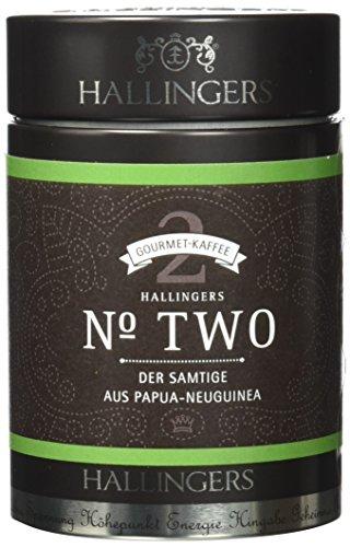 Hallingers Kaffee Mix Crema - gemahlen Filterkaffee Set/Mix 4 x Premiumdose, 1er Pack (1 x 520 g) thumbnail