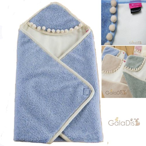 BH-BL Babywickeldecke Wickelpolster Puckdecke - Blue -
