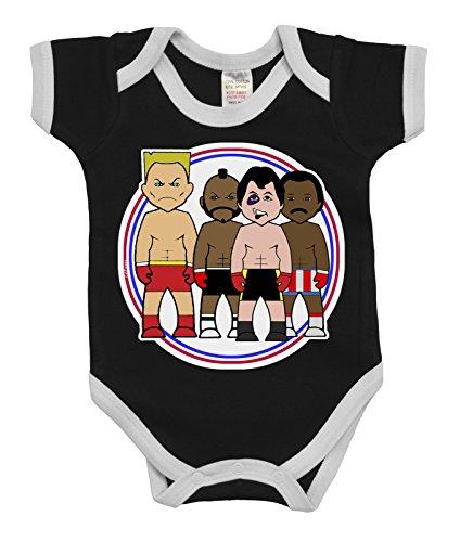 VIPwees Baby Kleidung Babygrow Rock N Rivals Boxing Boys & Girls Baby Bodysuit