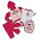 Converse 1838-620Baby Girl 's Baby-Set de regalo Barberry 0-3 meses