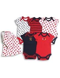 The Essential One - Paquete de 5 Body para bebé unisex ESS37