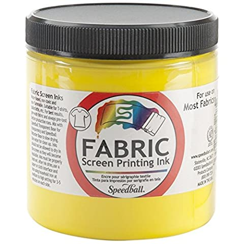 Speedball Screen Prtg Ink 8 Oz Yellow