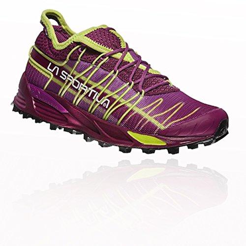 La Sportiva Mutant Woman, Zapatillas de Trail Running Unisex Adulto, Multicolor Plum/Apple Green 000...
