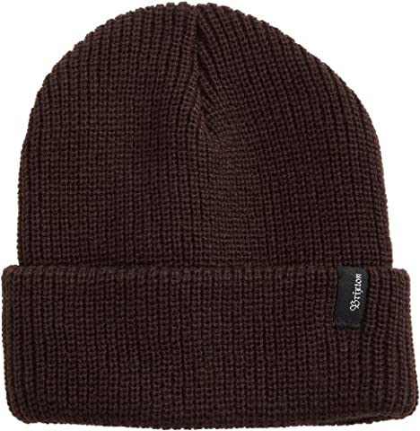 Brixton Men's Heist Beanie, Brown, One Size