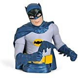 Batman 1966 Hucha en forma de personaje de DC Comics colección retro busto de Liga is super héroe plástico 20 cm azul con licencia