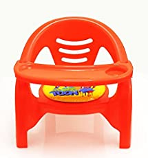 Akshat 2 in 1 Baby Premium toon Chair in red (red)