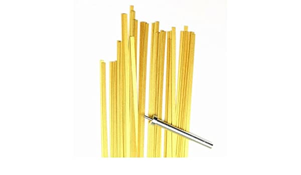 100 Streifen 3x450mm 120 g//m2 Karen Marie Klip: Quilling Papierstreifen lime
