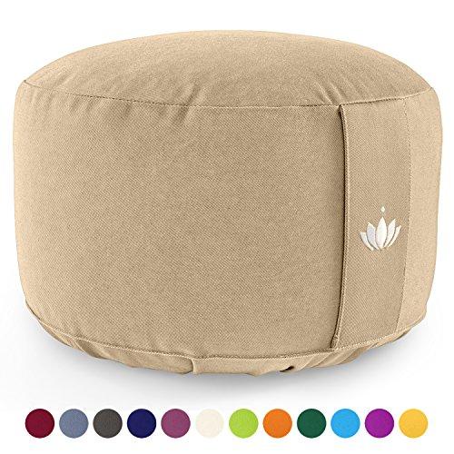 Lotuscrafts Cojin Meditacion Yoga Lotus   Altura 20
