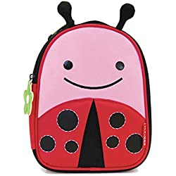 Skip Hop Zoo Lunchies Lady Bug - Mochila para merienda