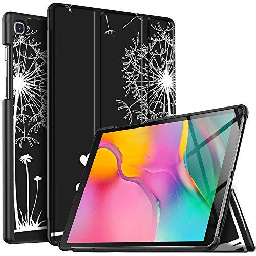 IVSO Hülle für Samsung Galaxy Tab A T515/T510 10.1 2019, Ultra Schlank Slim Schutzhülle Hochwertiges PU mit Standfunktion Ideal Geeignet für Samsung Galaxy Tab A 2019 T515/T510 10.1 Zoll, CH-09