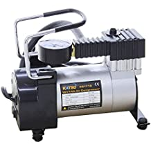 Katsu ® 451719 – Inflador de neumáticos de Coche, compresor de Aire, 12 V