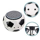Amazon Echo Dot Halterung Basketball/Football/Baseball Wandhalterung Deckenhalterung Schutzhülle Lautsprecher Ständer für Amazon Echo Dot 2. und 1. Generation Alexa Schutzzubehör Tischhalter Stand für erhöhte Stabilität (Football)