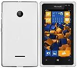 mumbi Schutzhülle Microsoft Lumia 532 Hülle transparent