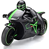 Kiditos Professional High Speed 2.4 GHz RC Motorcycle Bike with Built in Gyroscope & Bright LED Headlights