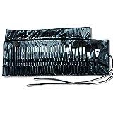 PU makeup Brush Roll-up Pouch, organizer per cosmetici, viaggio portatile 32tasche rotolamento del sacchetto Holder HZC223