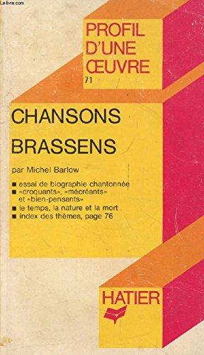 Chansons de Georges Brassens : Analyse t...
