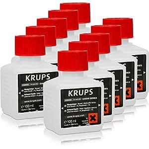 5 x liquide de nettoyage pour Krups XS 9000 pour cSystèmes 200 ml
