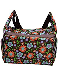 Sac à bandoulière multicolore avec Colorful Patterns- Floral (BAG-W-WW-09)