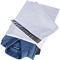 Switory 25pc 30.5cmx39.5cm Bolsas para Envíos, Anuncios de correo de polietileno blanco, sobres de envío Sobres de correo Bolsas para embalaje