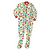 Best Lazy One Footies - LazyOne Unisex Pattern Moose Footie All-in-One Adult XSmall Review