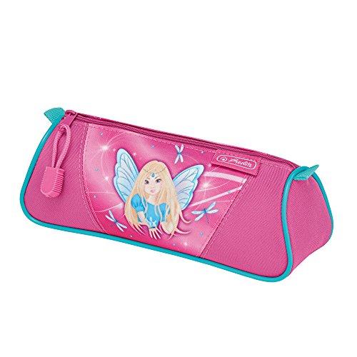 Preisvergleich Produktbild herlitz 50008605 dreikant Faulenzer, 1 Fach mit Reißverschluss, Motiv: Fairy, 1 Stück