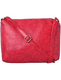 Speed X Fashion Women's Sling Bag Red AMZN102 (IND 103NS)
