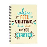 #10: The Crazy Me Never Quit Spiral Notebook(A5)