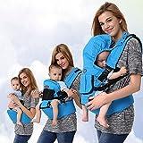 Multifuncional transpirable ajustable niño mochila portabebés Wrap recién nacidos lactantes...