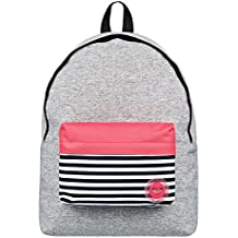 6d86c27e1 Roxy Sugar Baby Colorblock Mochila Escolar, 40 cm, Highrise Heather Gris