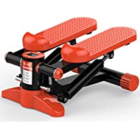A-SSJ steppers Home stepper mini multi-function pedal stovepipe slimming weight loss fitness equipment muteup-down stepper for beginners and advanced users, small & compact