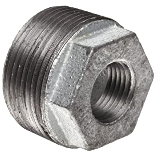Anvil 8700130746, Malleable Iron Pipe Fitting, Hex Bushing, 1