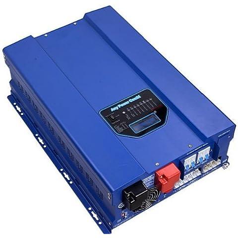 ZODORE HFV 6000W picco 18000W inverter a onda sinusoidale pura con caricatore solare/Built in con 40A MPPT solare caricabatteria Controller, 48V/220V