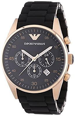 Emporio Armani Men's Chronograph Quartz Watch with Stainless Steel Strap AR5905