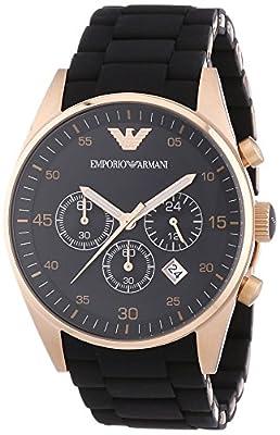 Emporio Armani Men's Chronograph Quartz Watch with Stainless Steel Strap AR5905