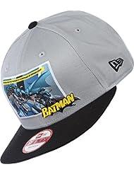 New Era 9 Fifty Comic Panel 2 Batman Snapback Cap - Grey Black - Small/Medium