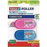 Tesa Mini - Pack de 2 rollers corrector desechable de 6 m x 5 mm