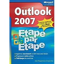 Outlook 2007 - Étape par Étape - Livre+compléments en ligne