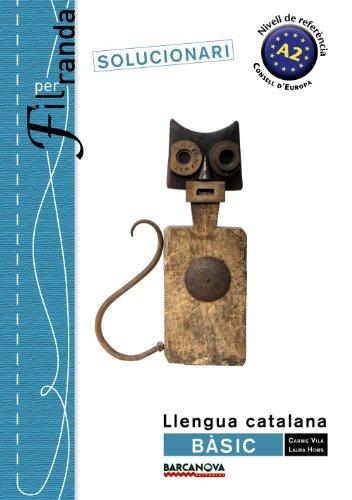Fil per randa. Bàsic Solucionari (Materials Educatius - Català Per A Adults - Tornaveu)