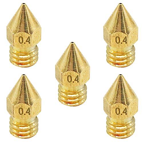 KINYOOO-5-extrudeurs-30-mm-avec-tube-175-mm-5-buses-en-laiton-04-mm-2-forets-de-nettoyage-pour-limprimante-3D-de-MK8-Makerbot-Reprap