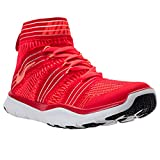 Turnschuh mit Socke Herren Nike Free Train Virtue Fitnesschuh Training Sportschuh rot Sockenschuhe (42,5)
