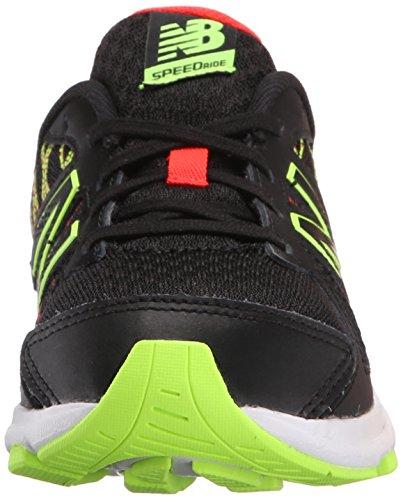 New Balance KJ690 Youth Running Shoe (Little Kid/Big Kid) Black/Green